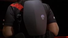 外星人小巧VR背包电脑在E3展出