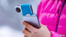 装上这款相机,iPhone秒变VR拍摄神器?