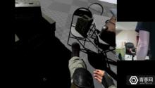 会玩!国外开发者称可用多个HTC Vive追踪器实现VR里全身追踪!