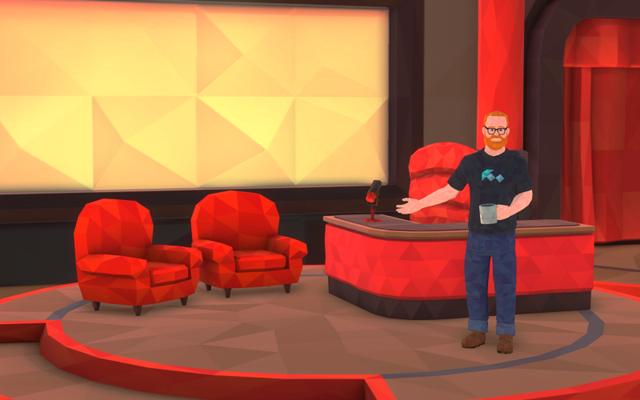 VR脱口秀要来了 背景音乐有方向感