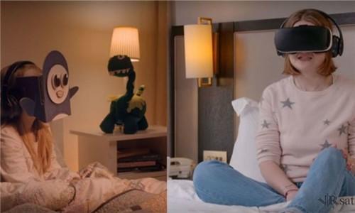 三星将让你和异地的孩子来一个VR睡前故事