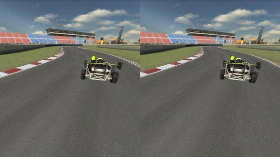 体感游戏火了,那么VR赛车是什么样的体验?