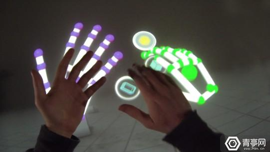 Leap-Motion-Orion-Blocks-Demo-Arm-HUD