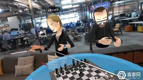 """小扎视频演示最新VR社交!Oculus和Facebook终""""合体""""?"""