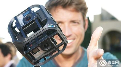 借VR救命  GoPro上线VR网站以推广VR摄影机