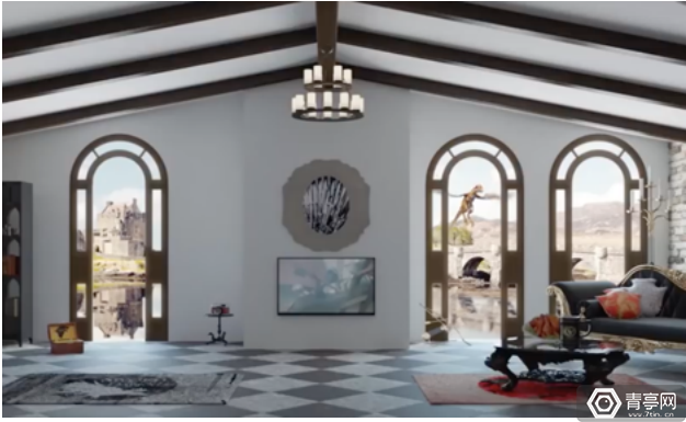 """在VR里""""看风水""""!社交平台myVR打造自定义房间"""