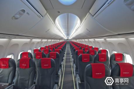 norwegian-flight-interior