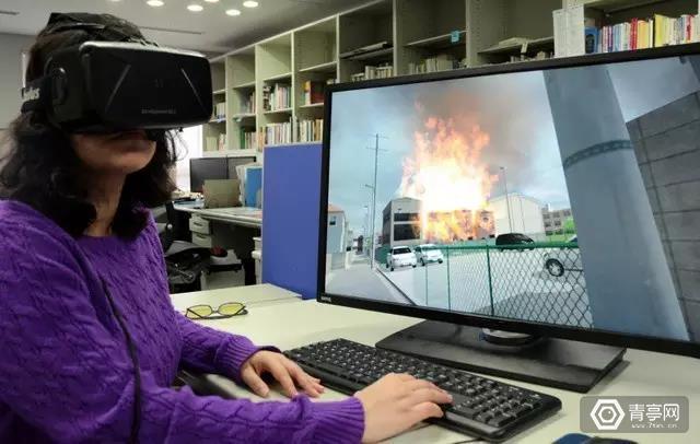 东京大学的VR灾难重现