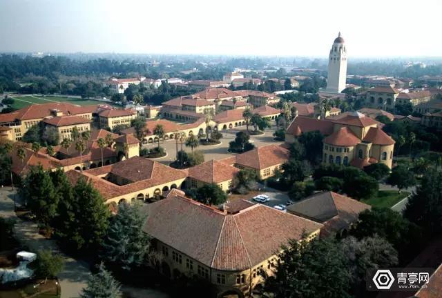 斯坦福大学鸟瞰图,图片来自Stanford News Service