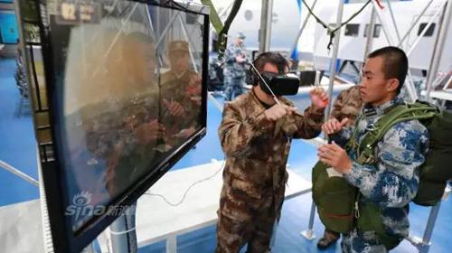 解放军空降兵训练VR跳伞2