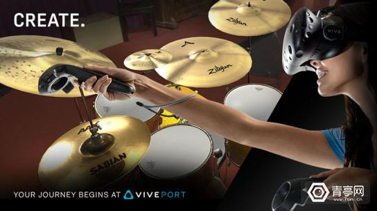 VivePort_828x464_MusicRoom_woman