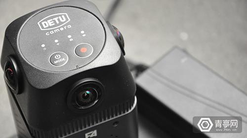 评测|VR直播新选 4目6K专业级全景相机Detu F4