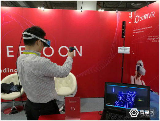 CES:大朋正式展出PC VR头盔E3 配备激光定位方案