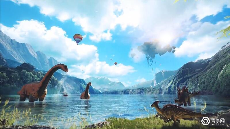 """被称为""""侏罗纪公园VR版""""的VR游戏《方舟公园》预告篇(附视频)"""