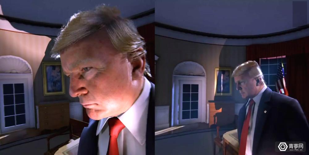 史上最逼真川普!这款VR游戏让你随便调戏总统大人