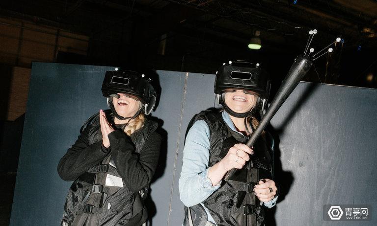 和纽约时报记者,一起走进最负盛名的VR体验公司THE VOID