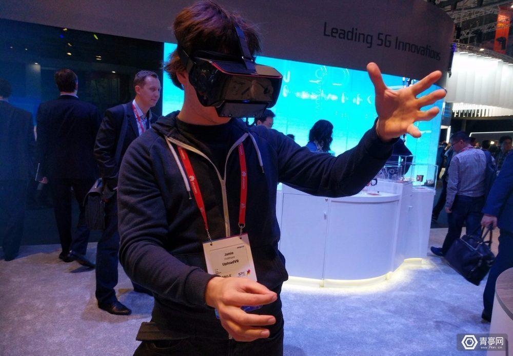 高通VR一体机亲评:集成Leap Motion手部追踪