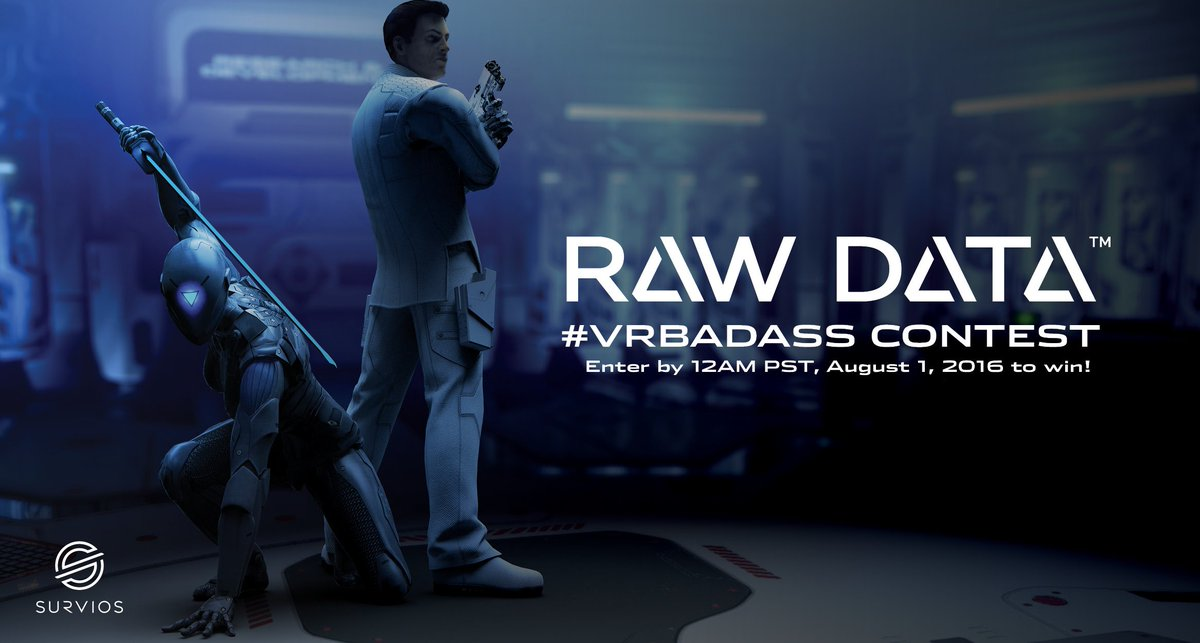 支持跨平台对战,《Raw Data》正式登陆Oculus