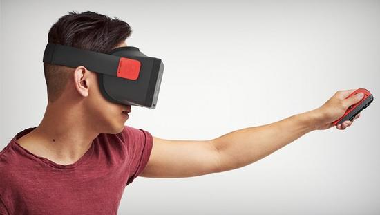 网曝Switch新VR设备,任天堂又要搞VR头盔?