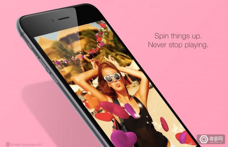 "AR应用SpinMagic让你的iPhone秒变魔法3D""画笔"""