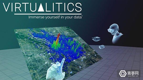 用VR/AR玩转大数据!Virtualitics 获得440万美元融资