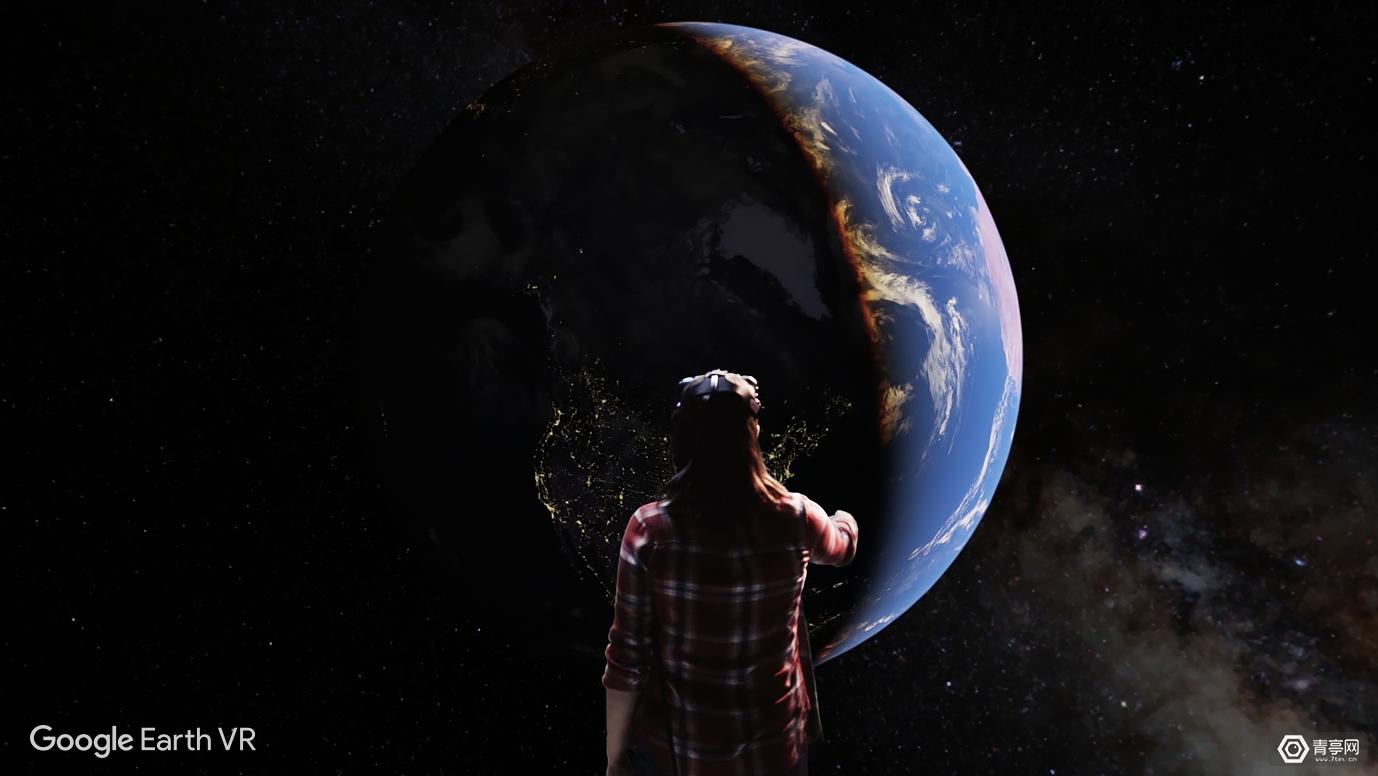 为庆祝世界地球日,《谷歌地球VR》新版即将发布