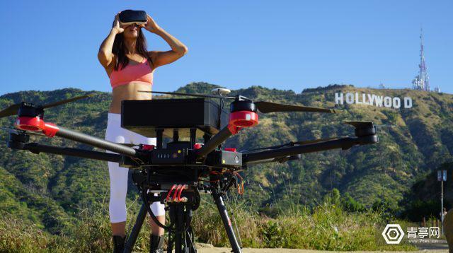 这款无人机能将360°视频无线广播5英里,售75000美元