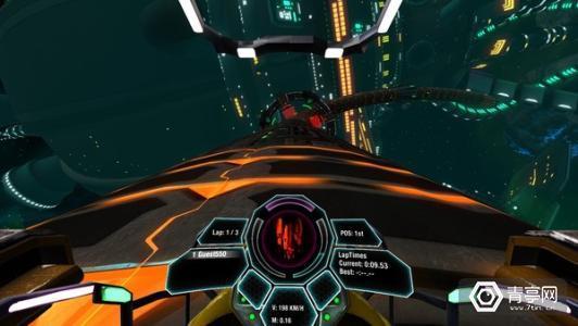VR游戏《超重力赛车》现已支持Oculus Touch