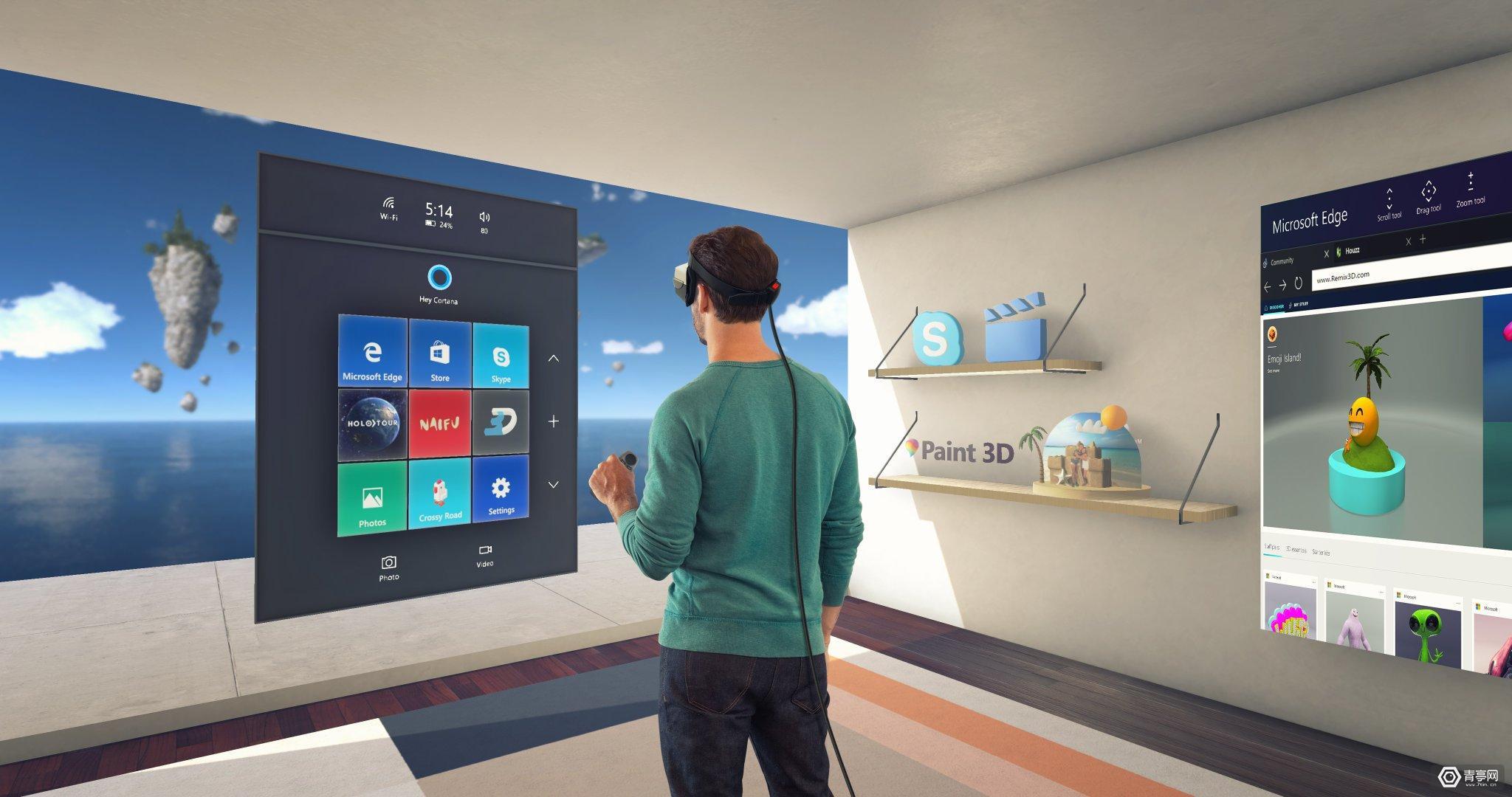 基于《AltSpaceVR》,微软混合现实开发者活动改为VR举行
