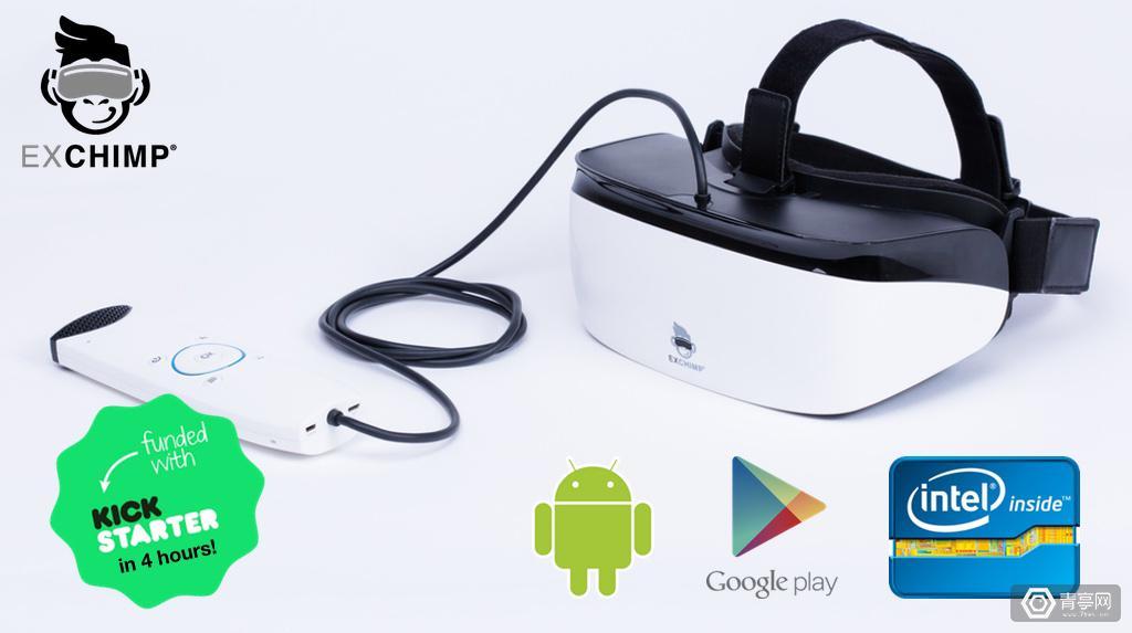 下一颗VR新星?低价高分辨率VR一体机EXCHIMP开启众筹