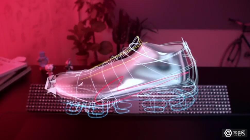 摩擦摩擦!耐克、戴尔演示VR造鞋魔法
