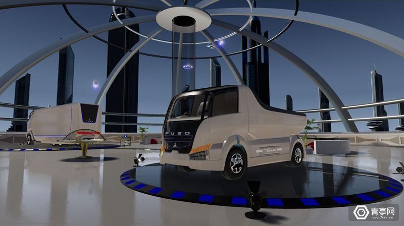 如何让卡车展变有趣?三菱扶桑让参观者在VR中装配卡车