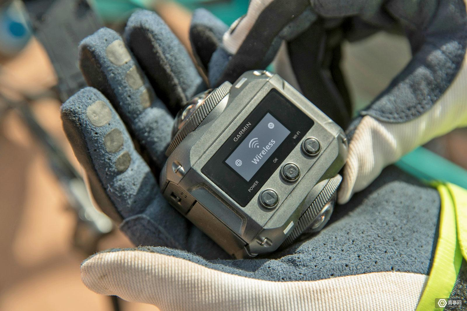 Garmin推5K 30fps全景相机,具备AR功能