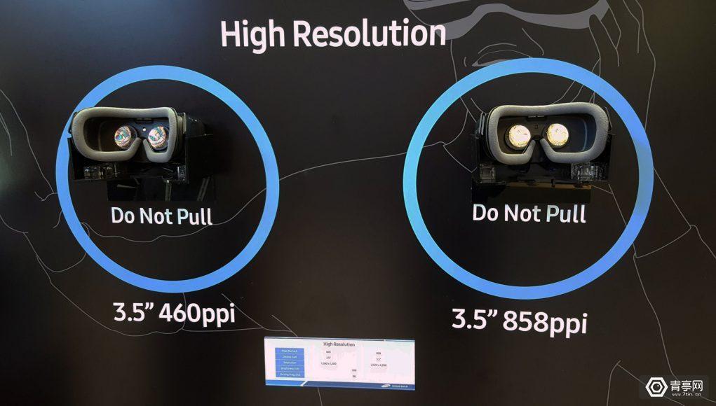 三星推超高分辨率VR显示屏,效果达Rift和HTC Vive三倍以上