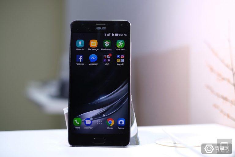 华硕推首款同时支持VR/AR手机,6月上市价格低于三星S8 Plus