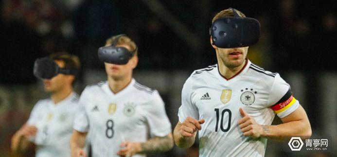 德国国家足球队利用VR训练队员
