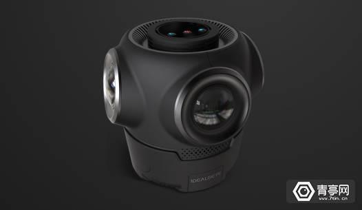 天使轮融资2000万,估值超一亿,VR一体机IDEALENS兄弟公司杀入全景相机领域