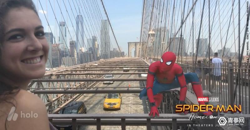 百度新投的这家公司,让你拿起手机就能和蜘蛛侠一块合影!