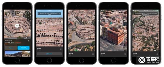 iOS 11 beta2地图应用超酷的VR虚拟现实模式