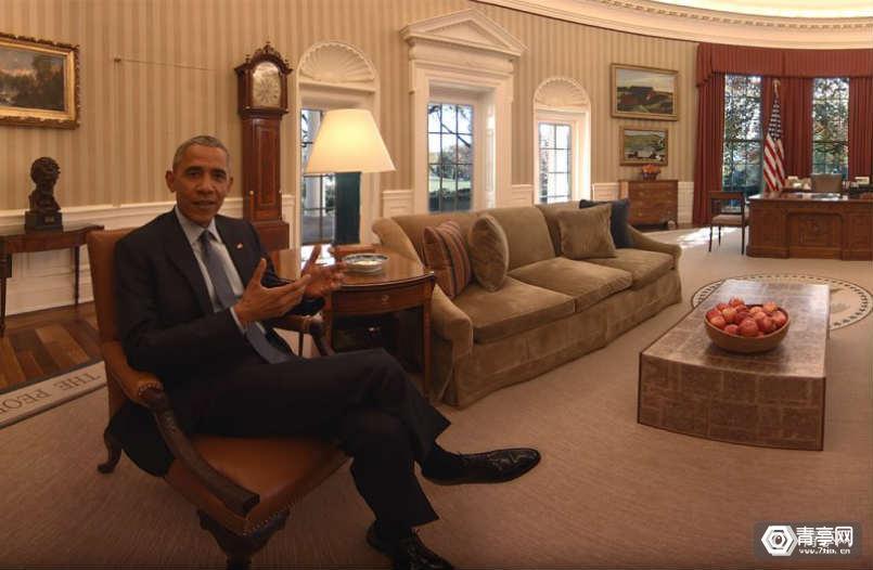 VR电影再获艾美奖提名,这次是奥巴马的《人民之家》