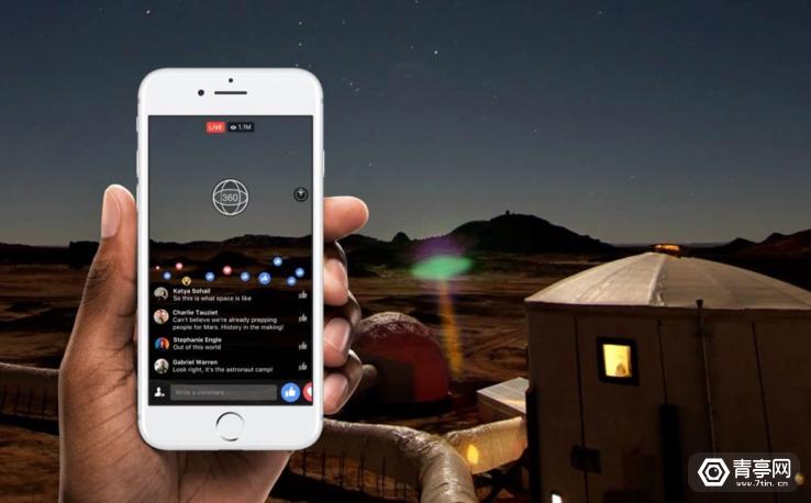 Facebook又有新花招,开通Live360全景视频直播,支持4K