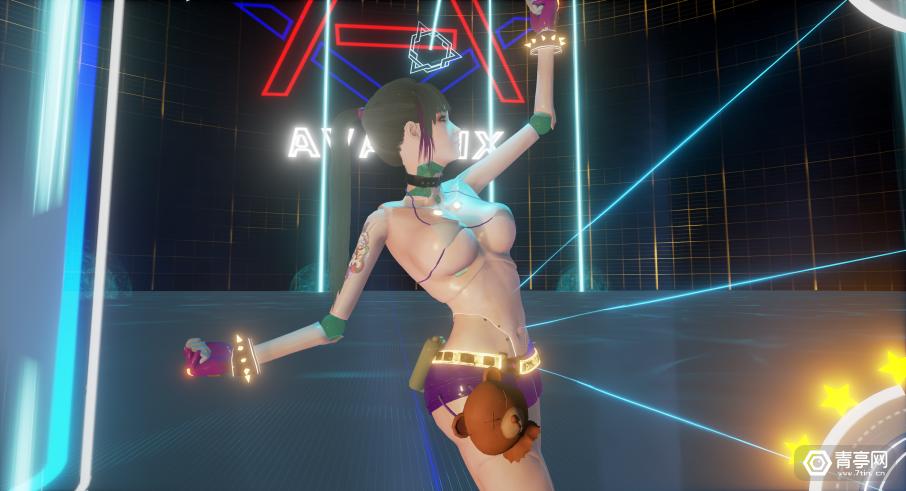 与3女1男在虚拟世界热舞,威沃世界推VR舞蹈游戏《热力舞伴》