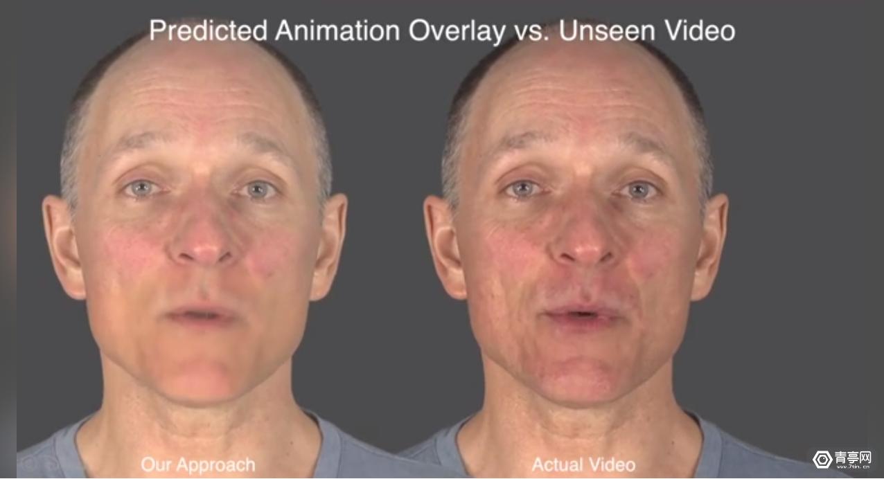"""迪士尼黑科技!深度学习让虚拟人物自动""""对口型"""""""