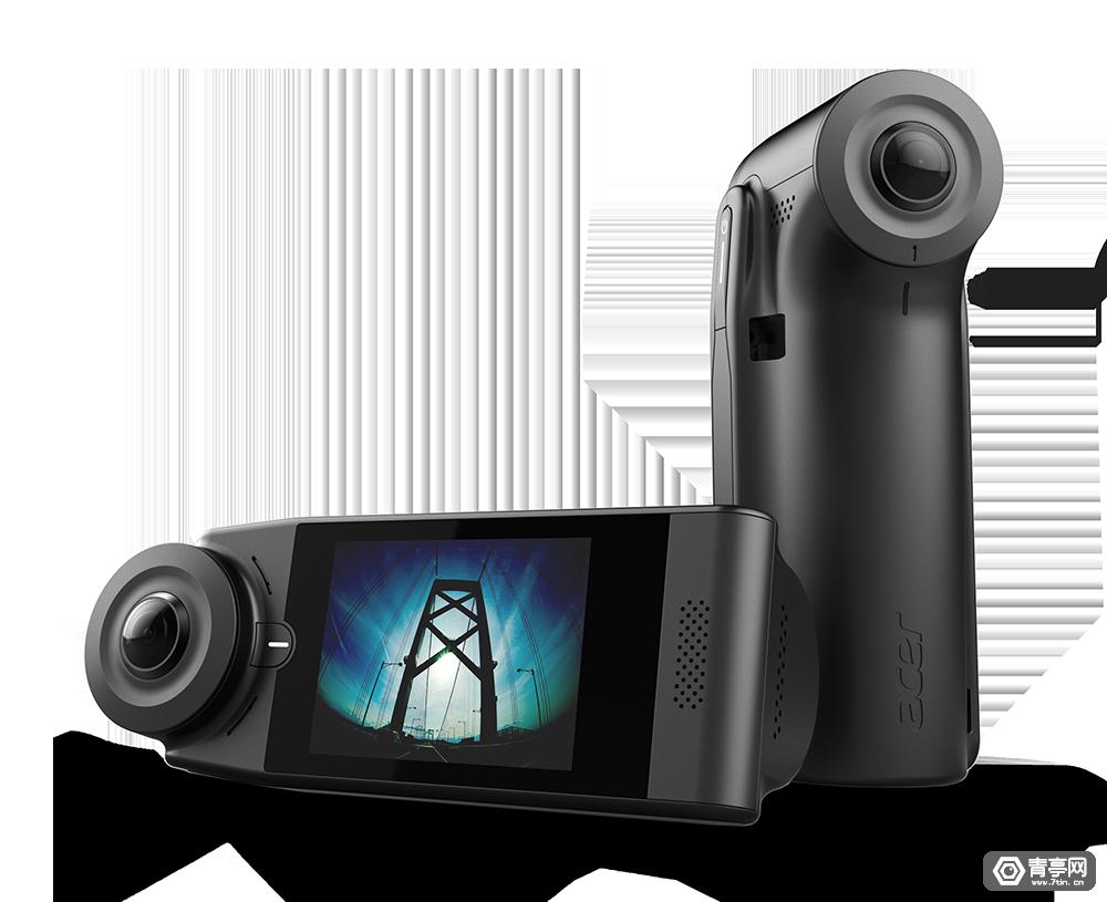宏碁推两款360°摄像机,Holo360北美区售价429美元,Vision360未透露