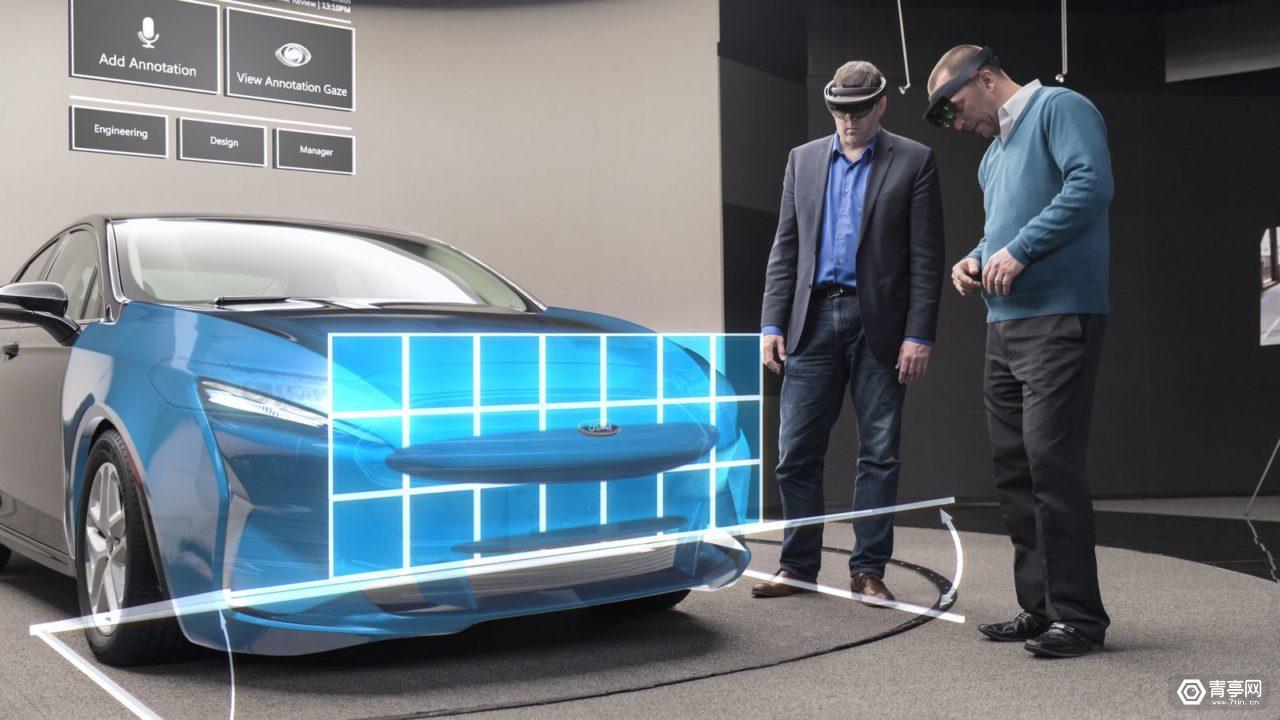 福特汽车正在使用 HoloLens AR 技术进行汽车设计