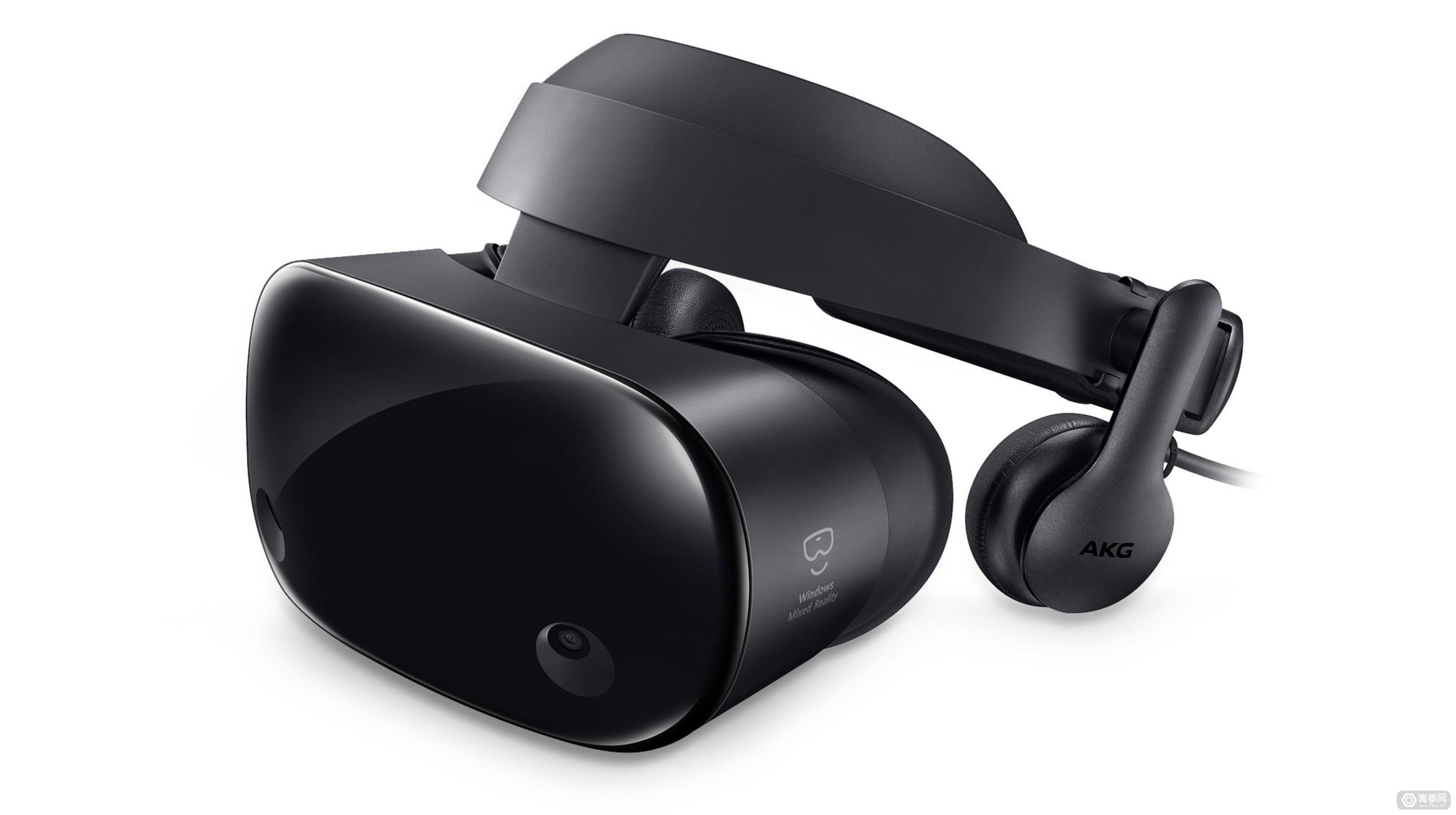 微软握手三星?三星版Windows VR头盔图片疑泄出,带AKG耳机