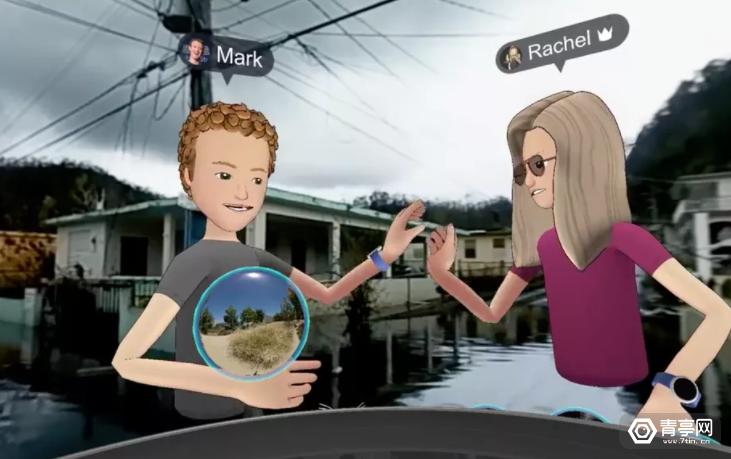 扎克伯格现身VR直播,用全景视频展示波多黎各飓风