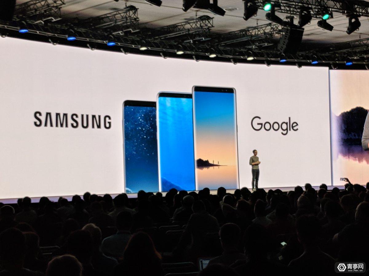 谷歌ARCore将支持三星S8和Note8智能手机