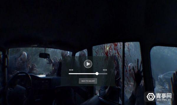 AMC发布新VR软件,带你体验更真实的《行尸走肉》