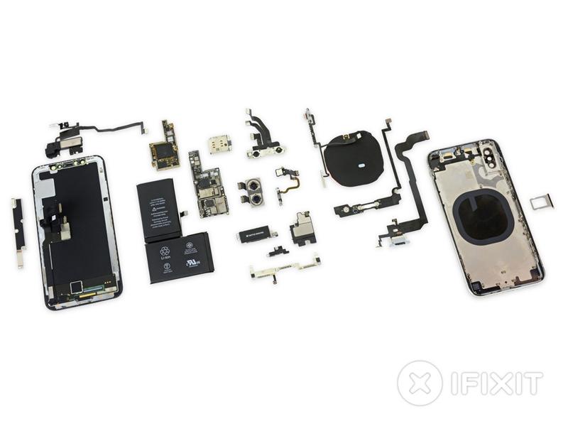 最艺术的主板就长这样,iPhone X深度拆解
